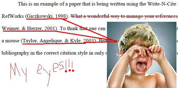 Text citations